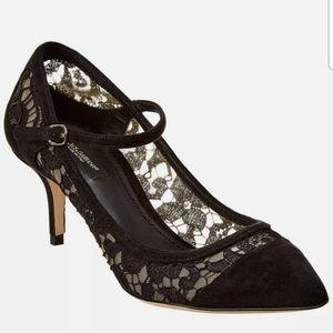 **SALE **NWT Dolce and Gabbana Mary Jane Pump